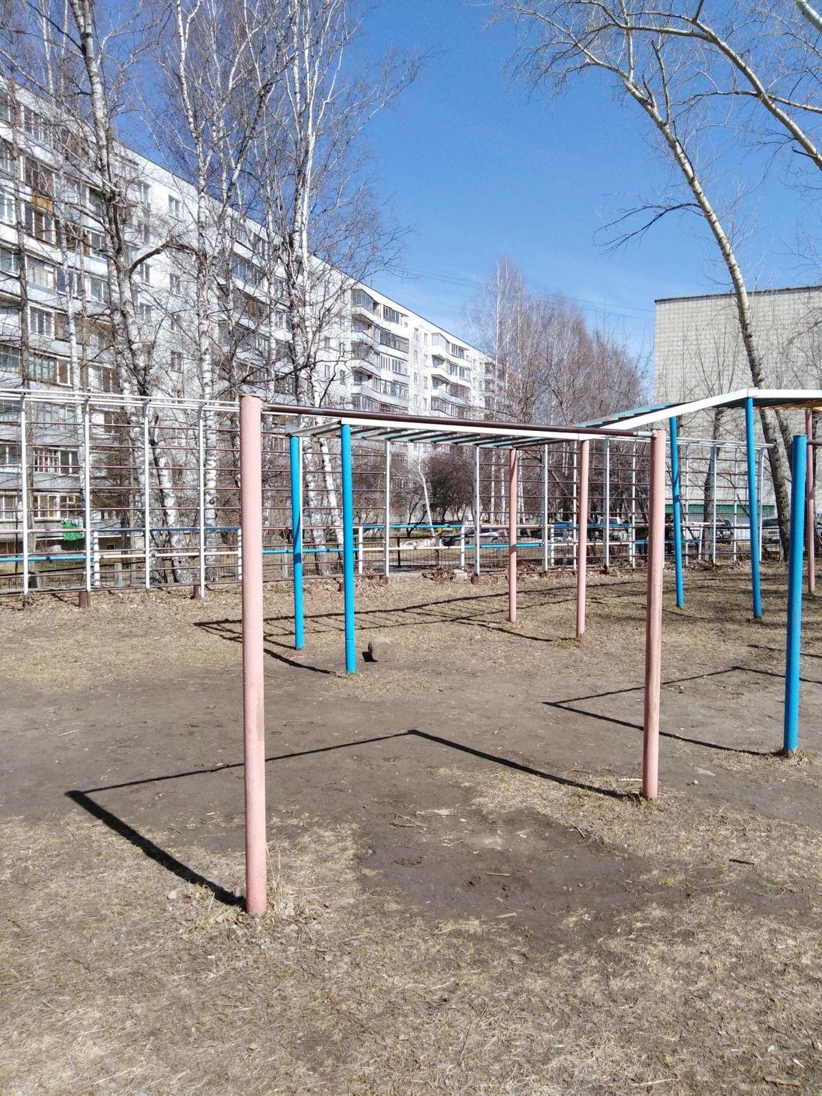 Novosibirsk - Calisthenics Gym - Улица Иванова