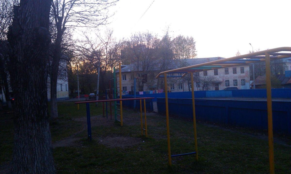 Vladimir - Street Workout Park - Энситех