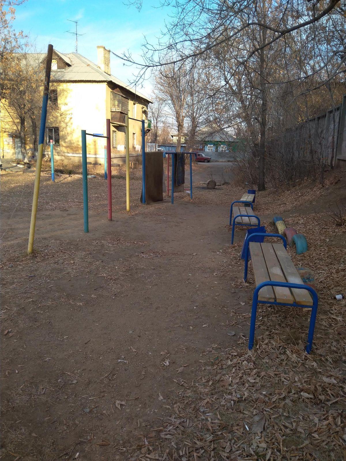 Chelyabinsk - Street Workout Park - Владка-шоколадница