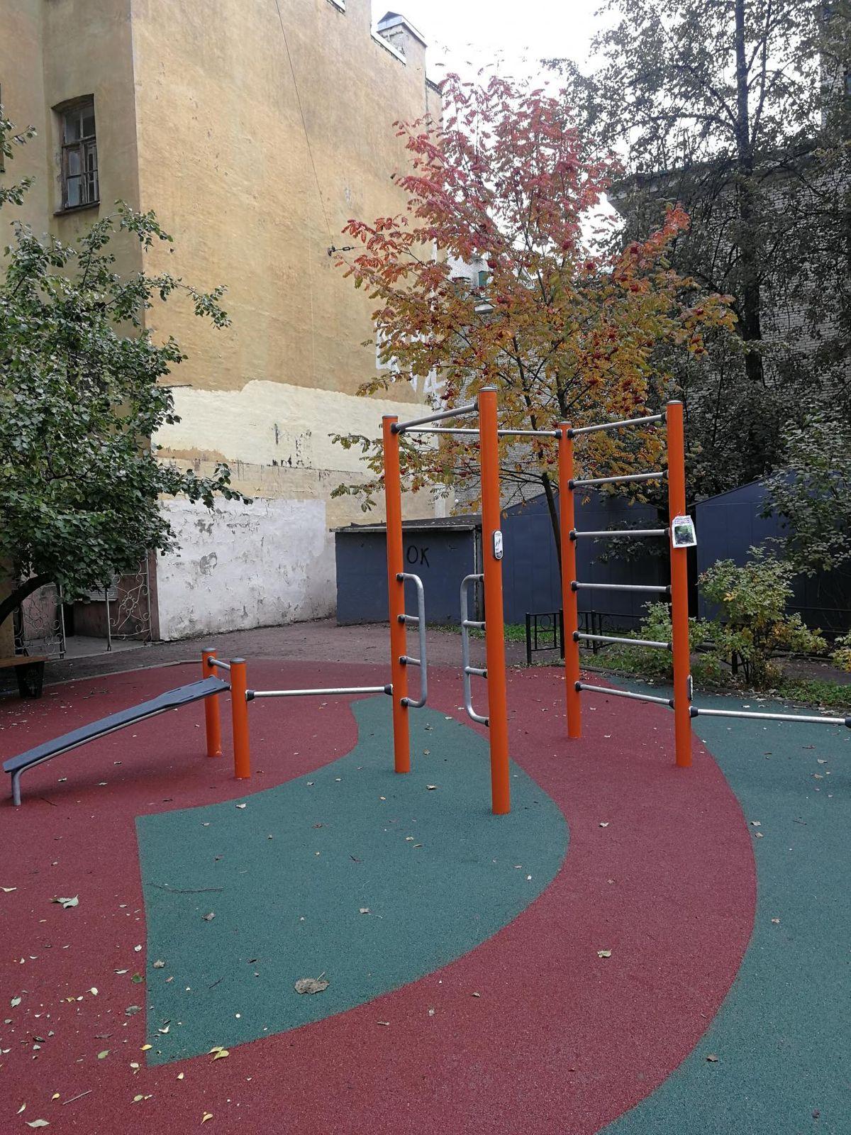 Saint Petersburg - Fitness Park - Ул Ораниенбаумская