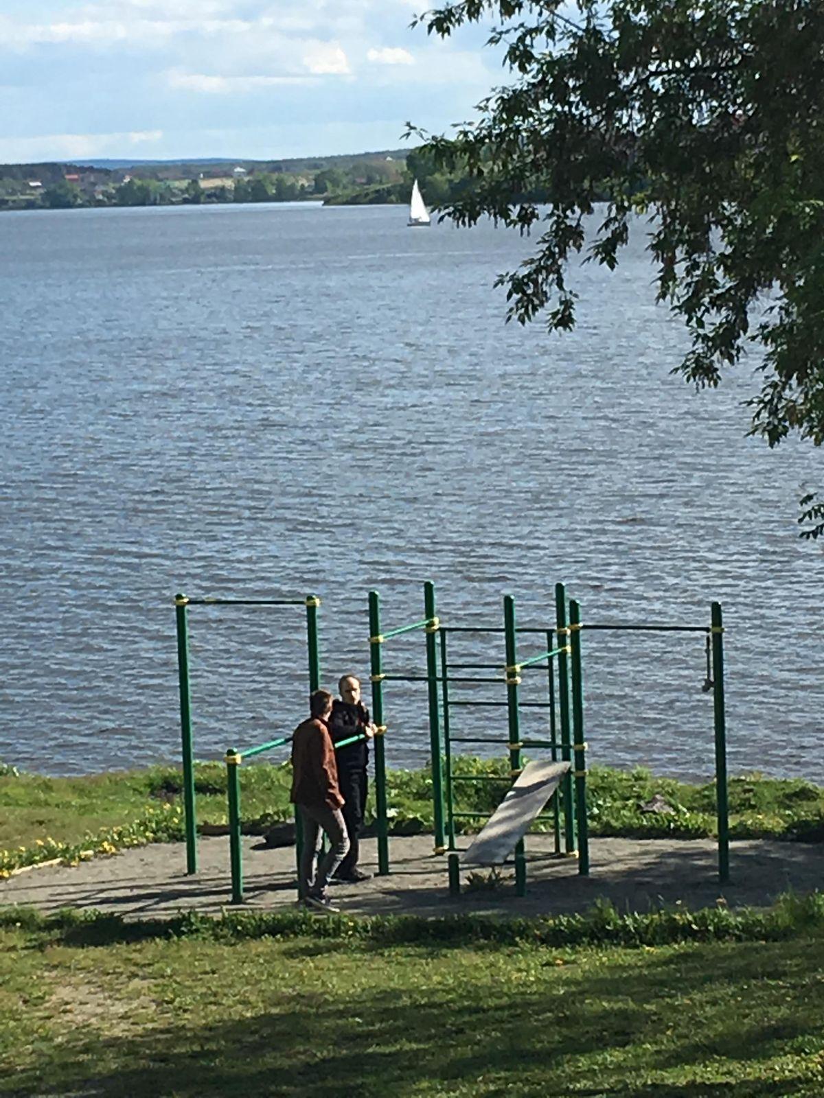 Nizhny Tagil - Street Workout Park - Park Inn NTagil