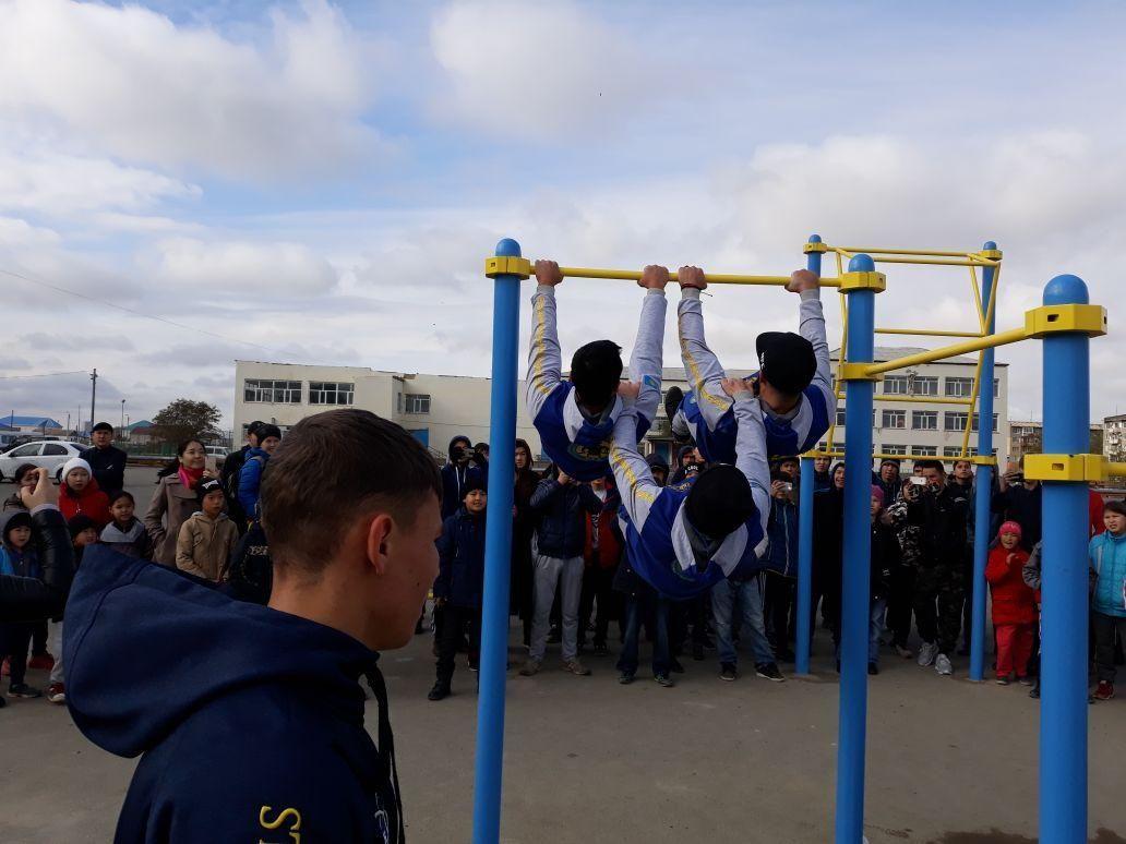 Kazakhstan - Street Workout Park - Atyrau Province