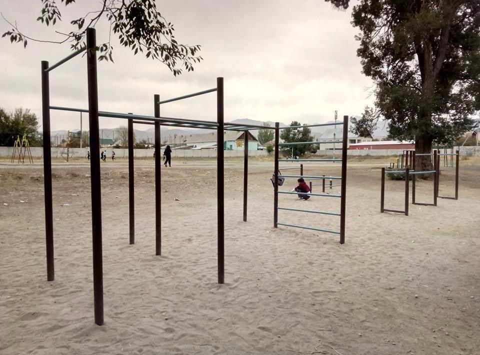 Karakol - Street Workout Park - Happy Nomads Village
