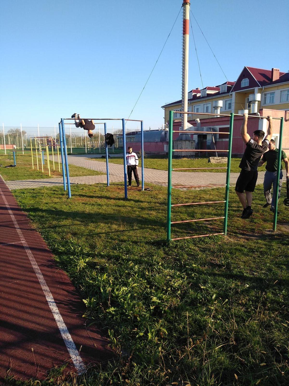 Abinsk - Street Workout Park - Комсомольский Проспект