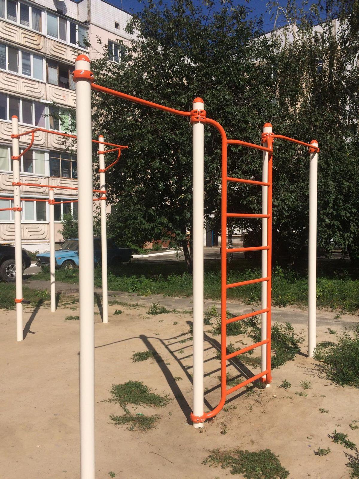 Hostomel - Street Workout Park - Магазин  Городок