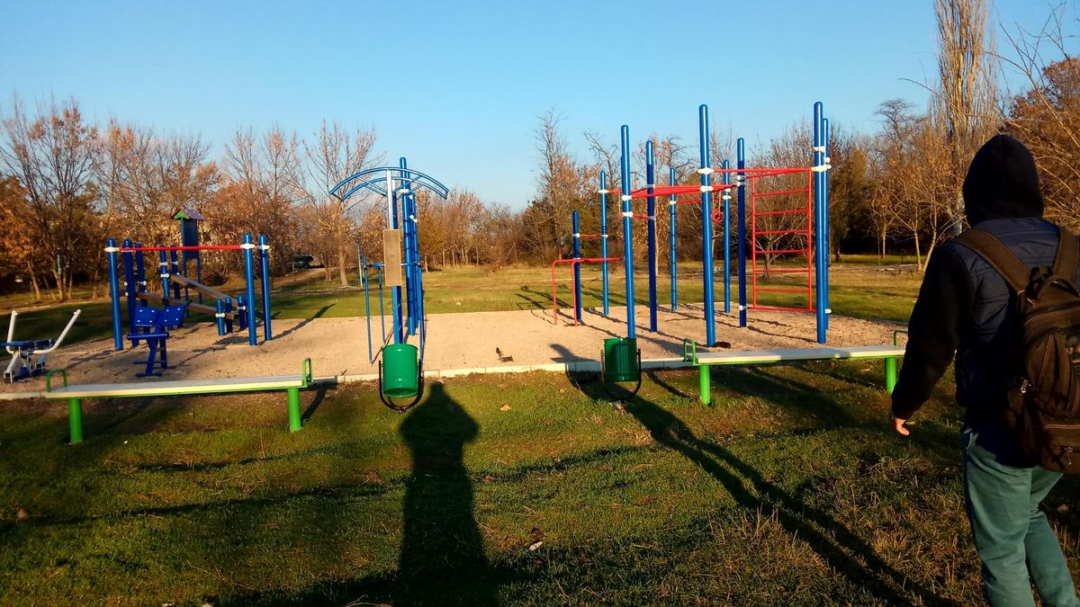 Crimean Peninsula - Street Workout Park - Табачне