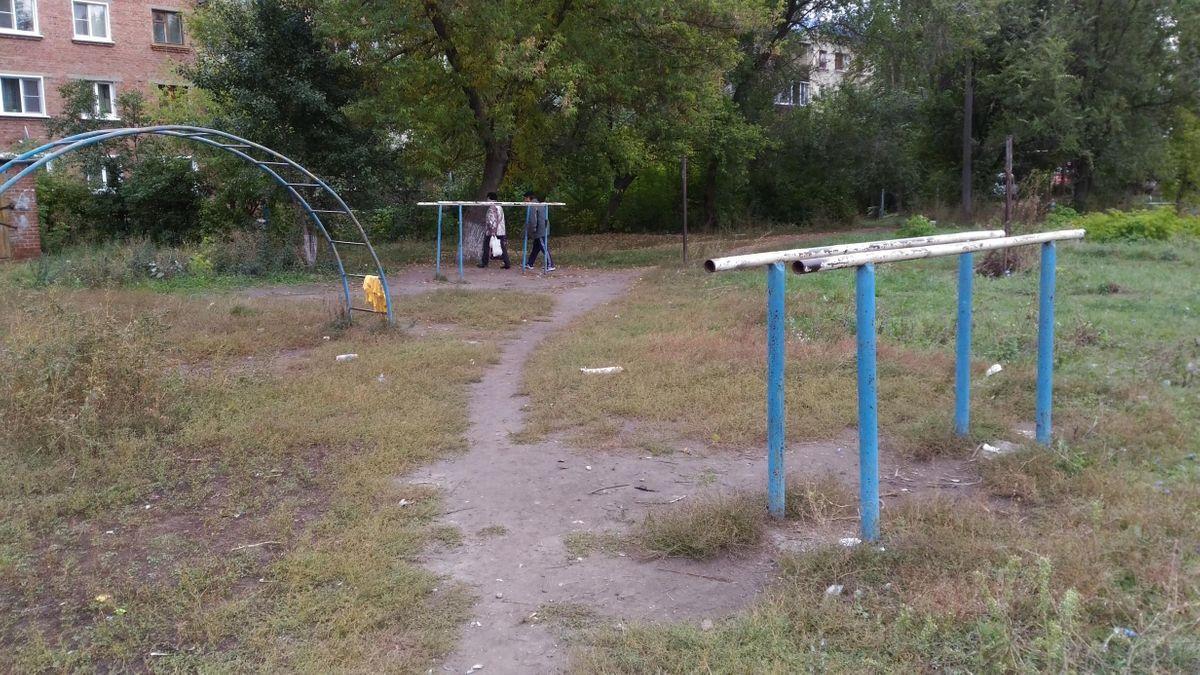 Borisoglebsk - Street Workout Park - Трамплин