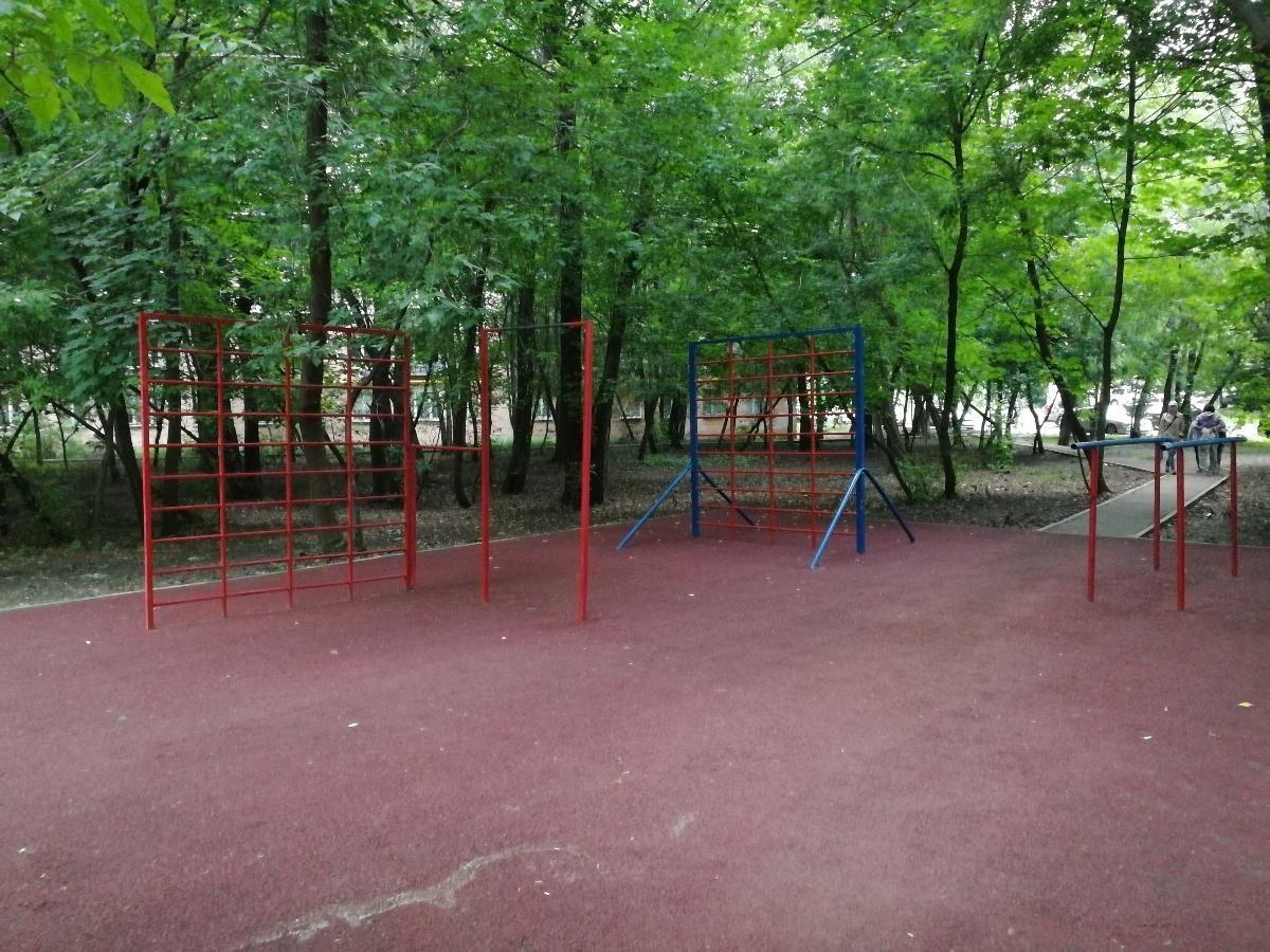 Moscow - Street Workout Park - Союзный Проспект
