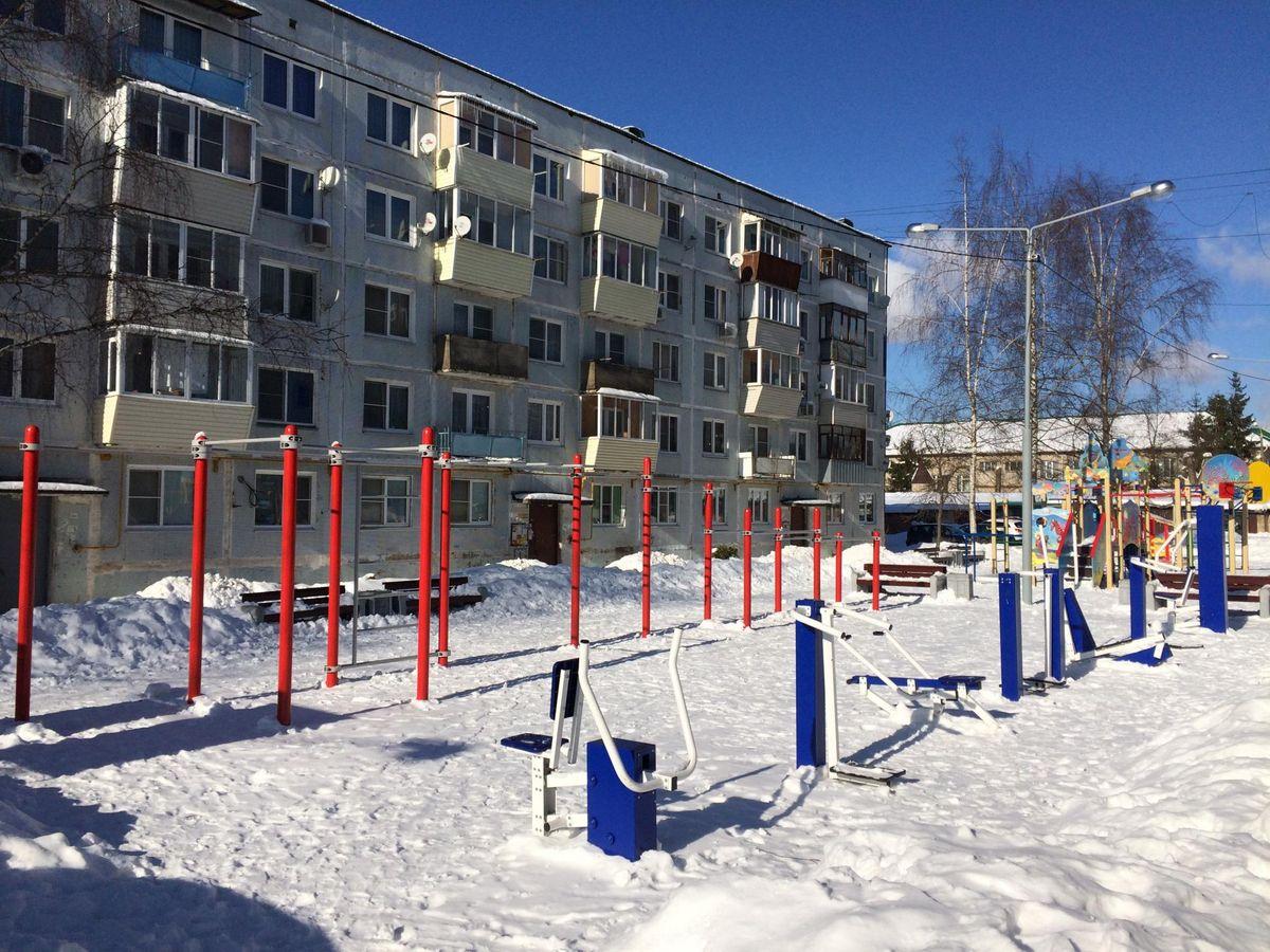 Nikolskoe - Street Workout Park - Школьная Улица