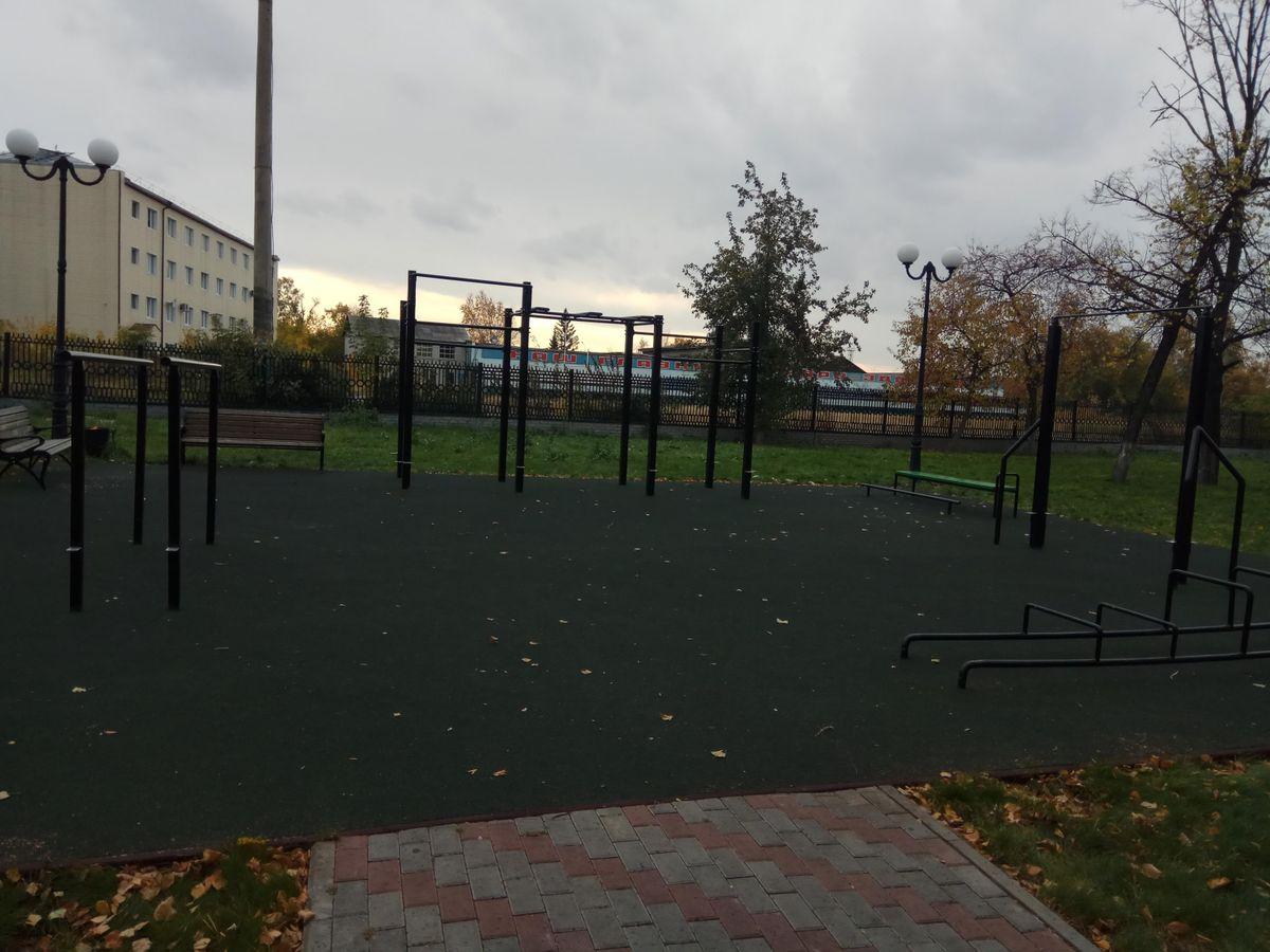 Tyumen - Street Workout Park - Улица Первомайская