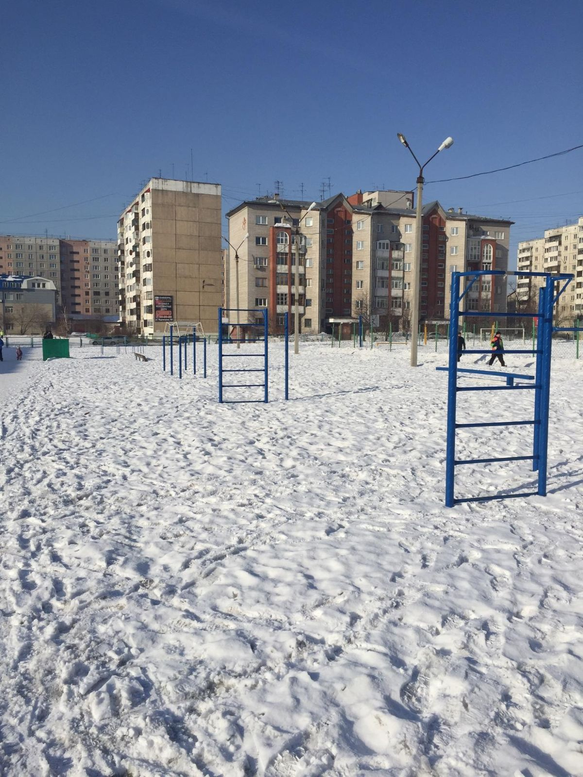Barnaul - Calisthenics Park - Резина