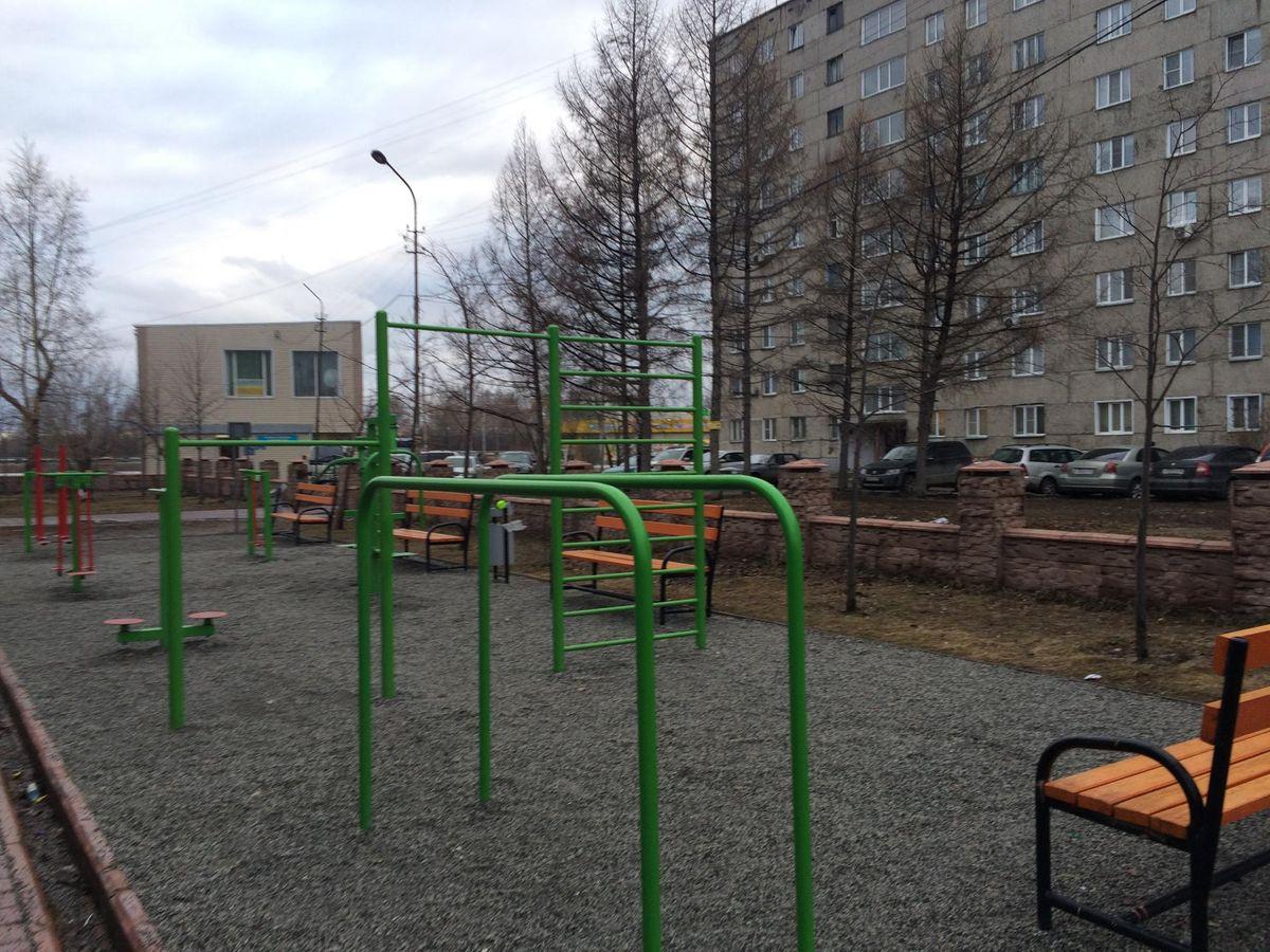 Ob - Calisthenics Gym - Улица Жко Аэропорта