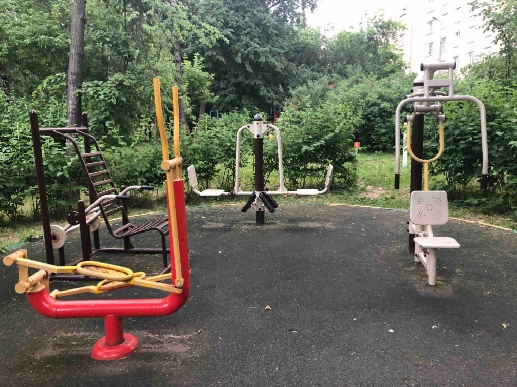 Moscow - Fitness Park - Улица Пудовкина