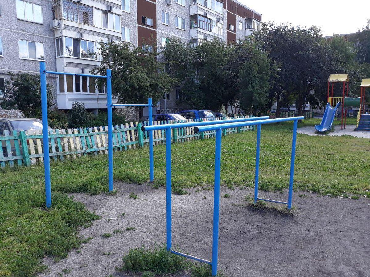 Verkhnyaya Pyshma - Outdoor Gym - Сыробогатов