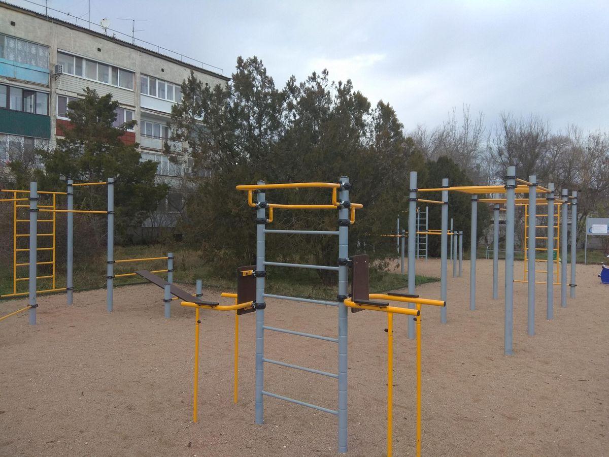 Гвардійське - Aire de Fitness - Ж/д Переезд Красная Зорька