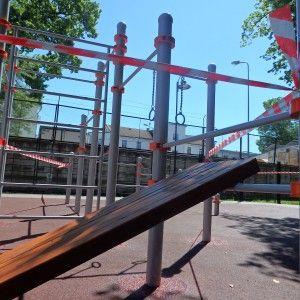 Riga - Street Workout Park - Ballzy Latvija