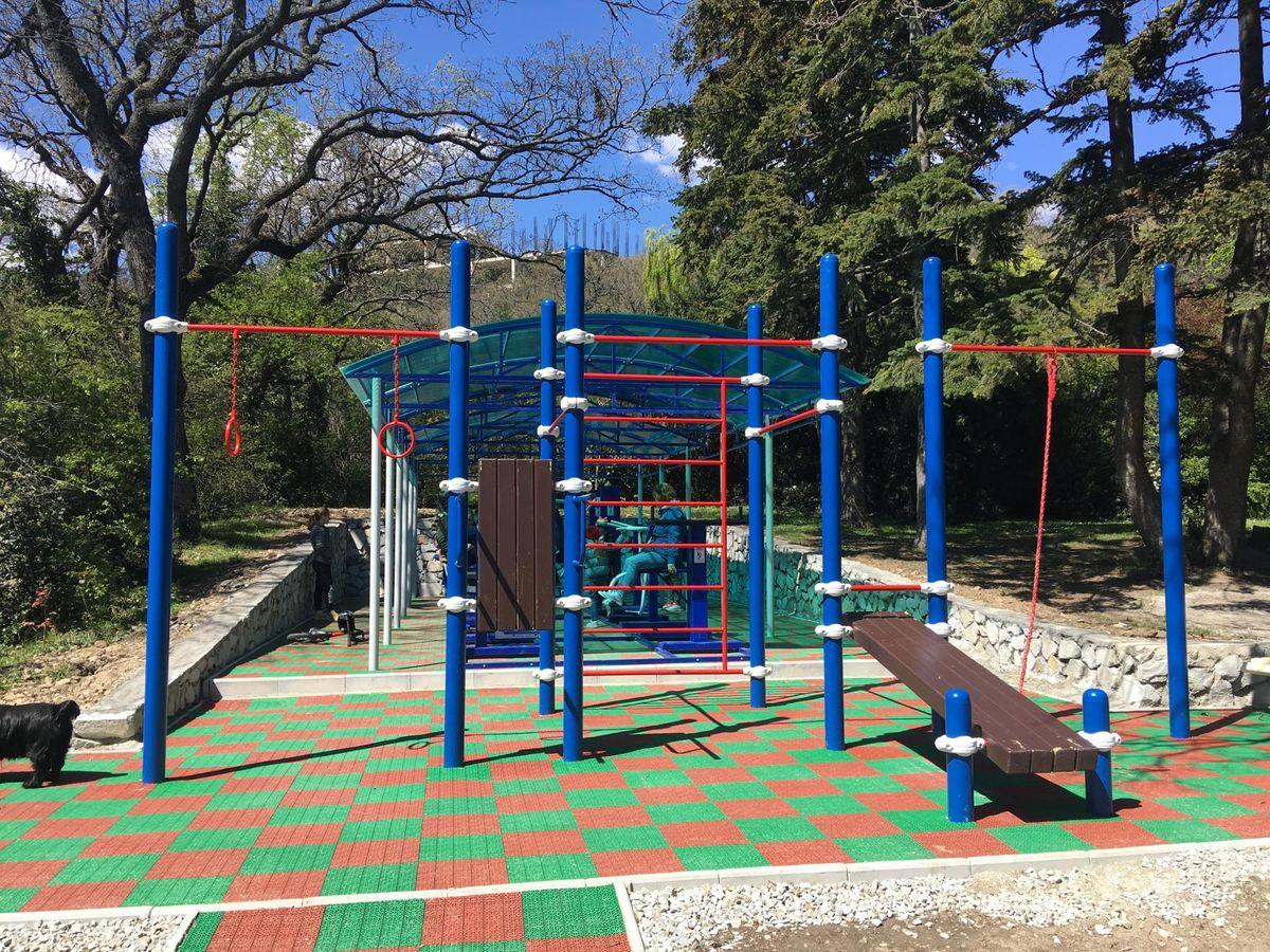 Yalta - Street Workout Park - Парк Роял