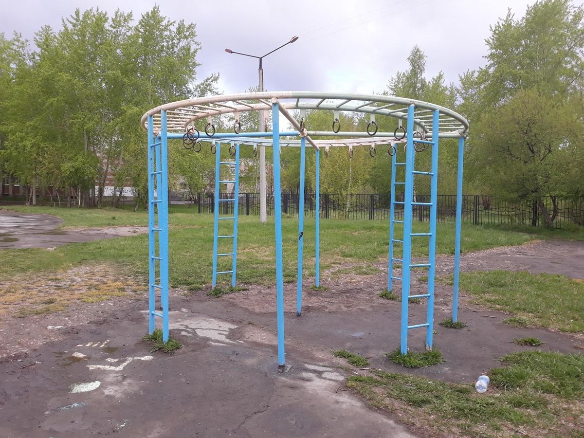 Asbest - Outdoor Gym - Райт