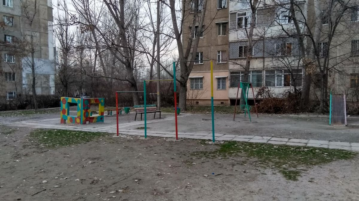 Bishkek - Street Workout Park - Ормон Хан / Ormon Khan