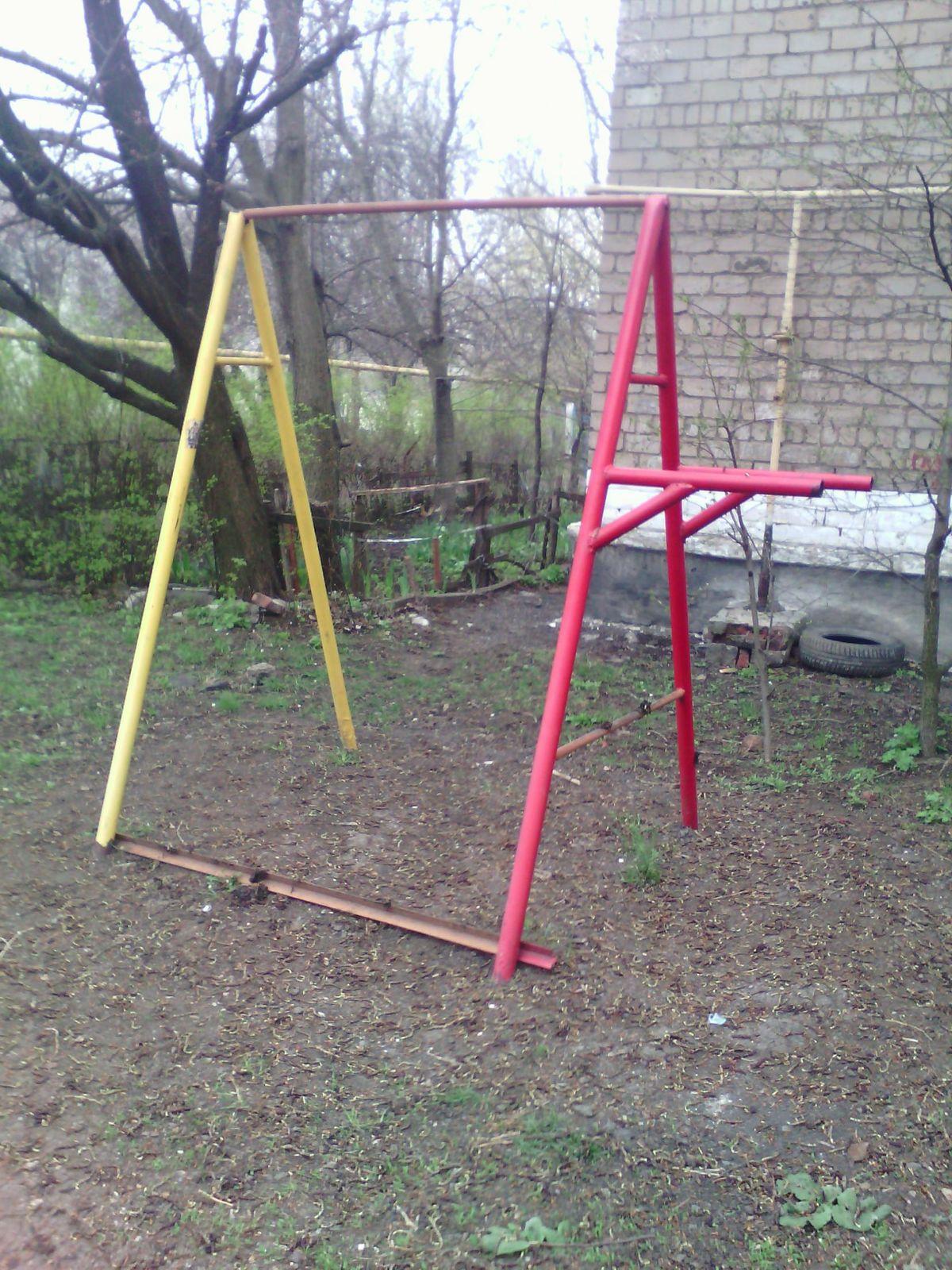 Makiivka - Street Workout Park - Площадь Бажанова