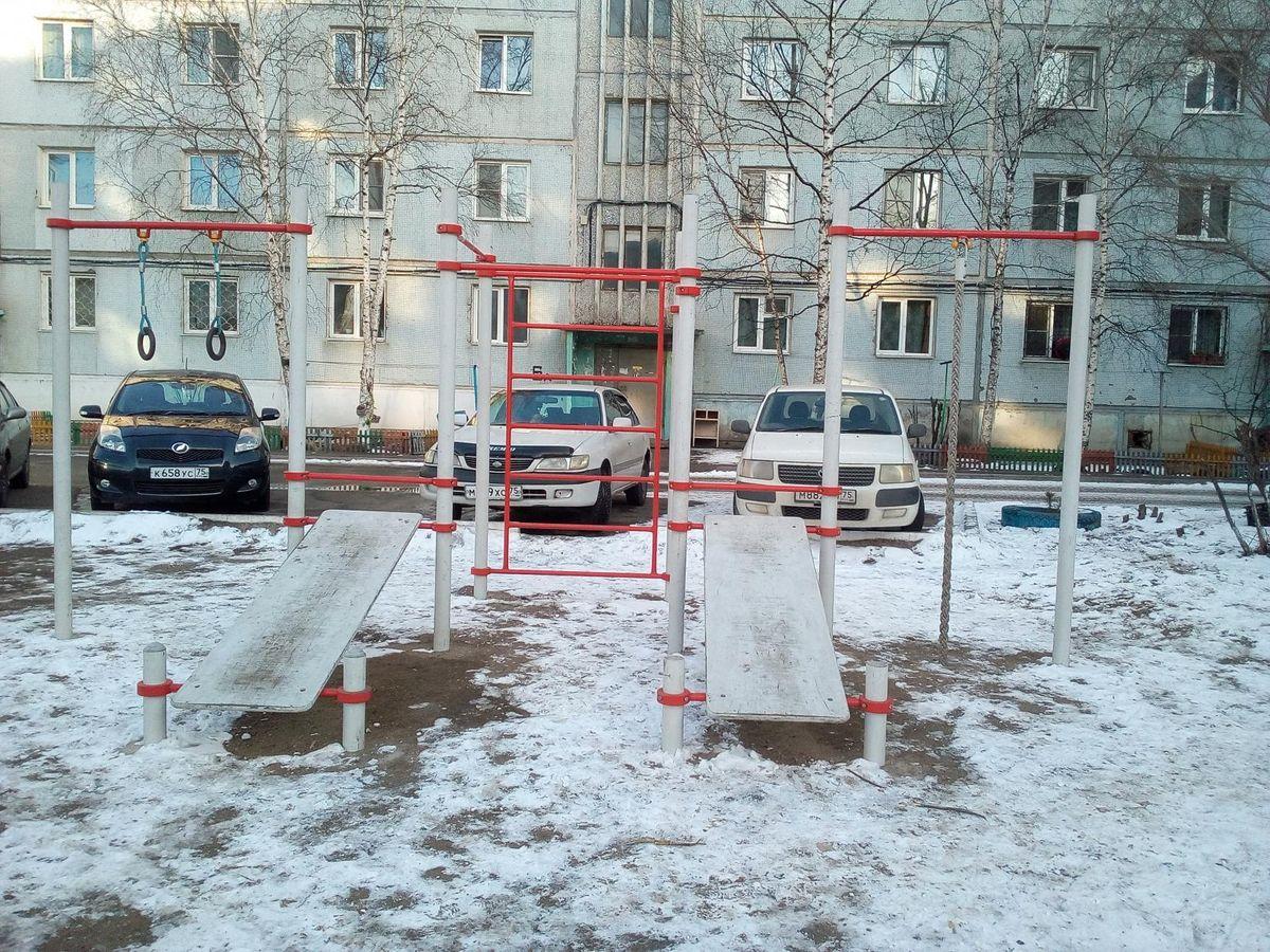 Chita - Street Workout Park - Кафе Набережная