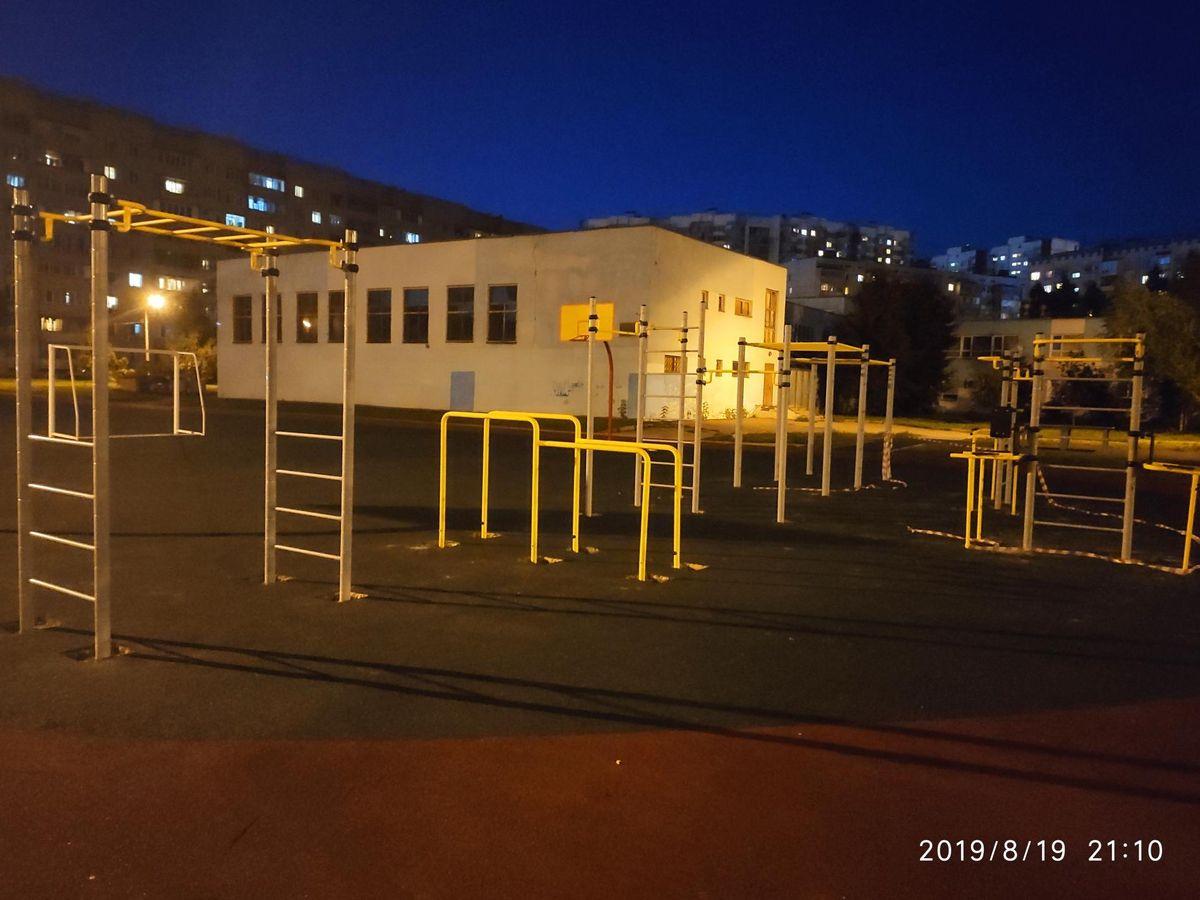 Mytishchi - Street Workout Park - Ул Шараповская