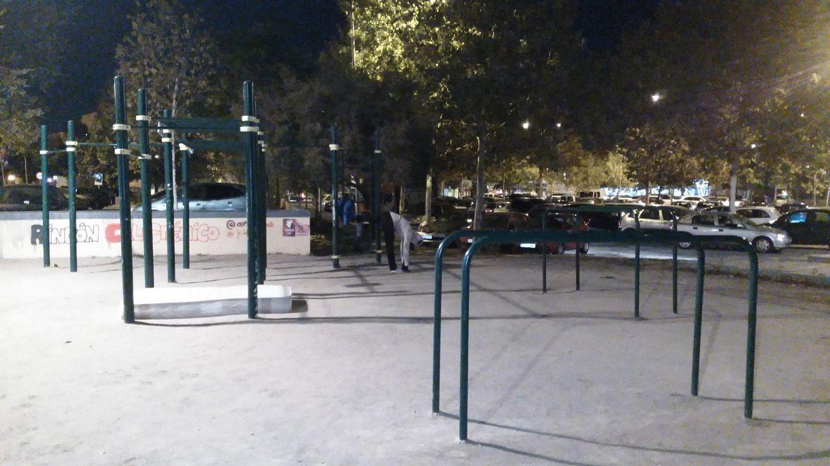 Getafe - Street Workout Park - Metro Alonso de Mendoza