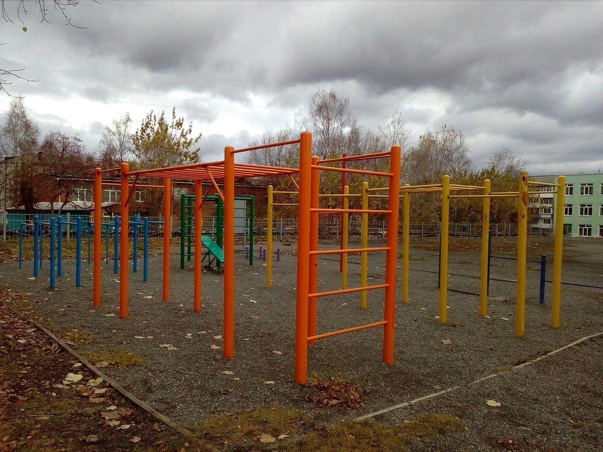 Serov - Street Workout Park - O'STIN
