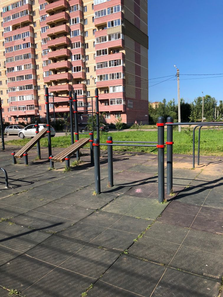 Yaroslavl - Street Workout Park - Спортивный Комплекс ХК Локомотив