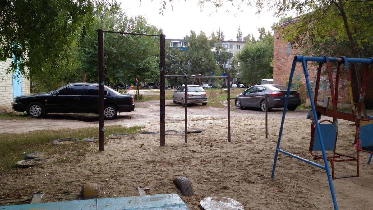 Borisoglebsk - Street Workout Park - Ольга