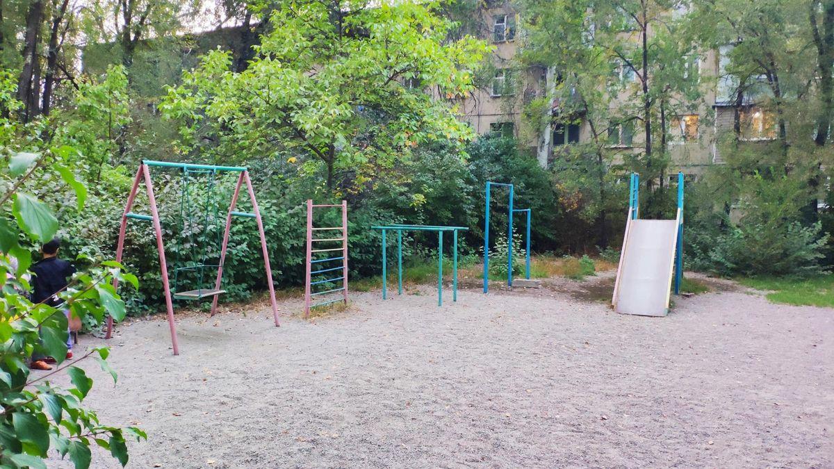 Bishkek - Street Workout Park - Silk Road International School