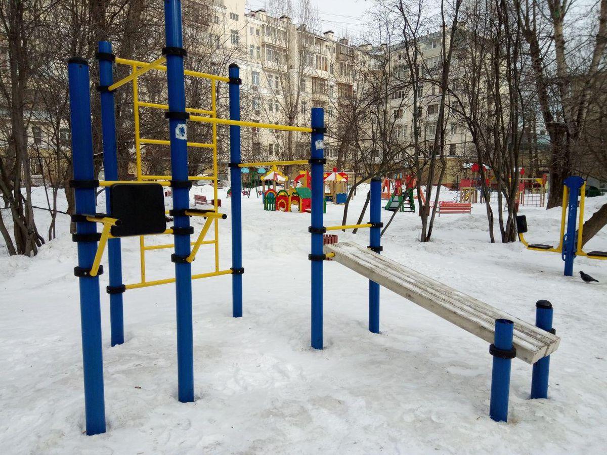Moscow - Outdoor Gym - Проезд Волоколамский