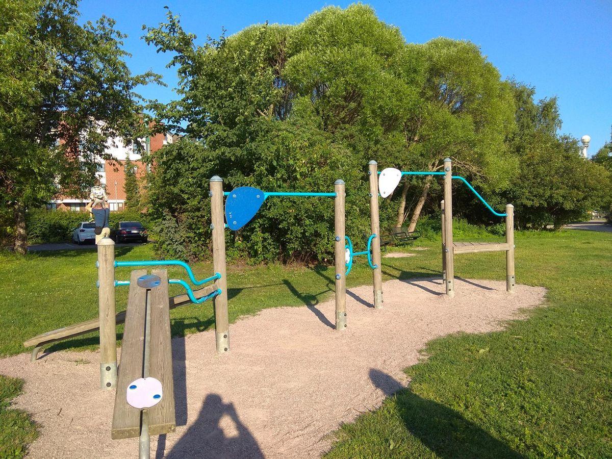 Helsinki - Fitness Park - Katajanokanranta