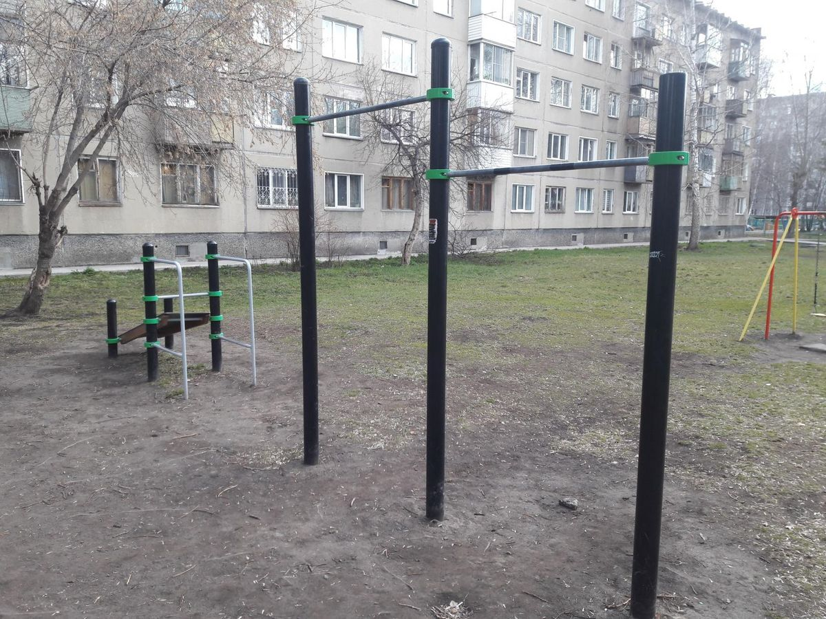 Novosibirsk - Street Workout Park - Улица Невельского