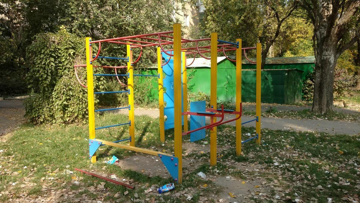 Odessa - Street Workout Park - Валенти