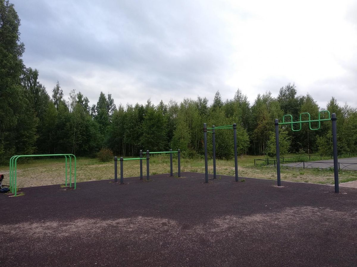 Saint Petersburg - Street Workout Park - Рампа За  Тайм Аутом