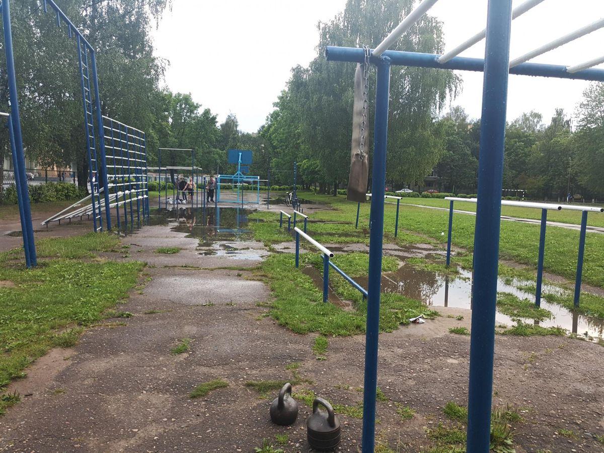Vitebsk - Street Workout Park - Улица Чкалова