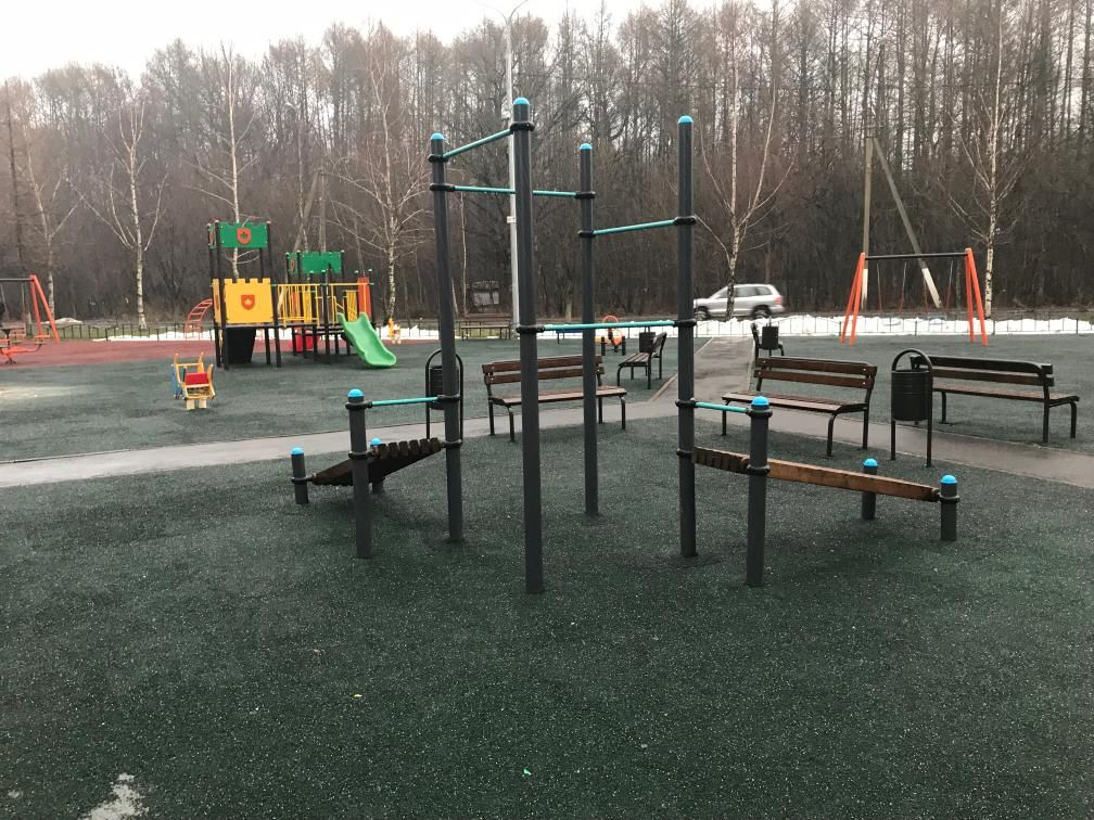 Bulatnikovskoe - Outdoor Gym - Пос Новодрожжино