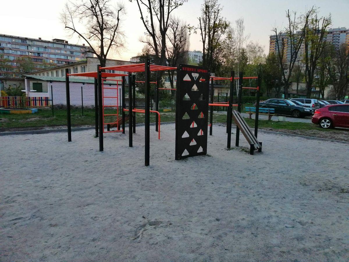 Kyiv - Street Workout Park - Полярная 5а