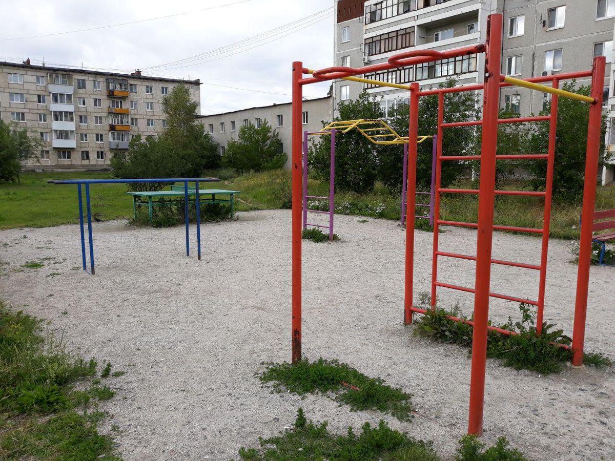 Verkhnyaya Pyshma - Street Workout Park - Банк Нейва