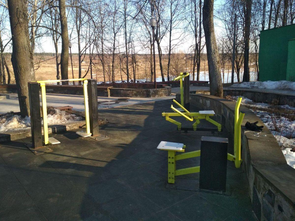 Vileyka - Street Workout Park - Улица 1 Мая