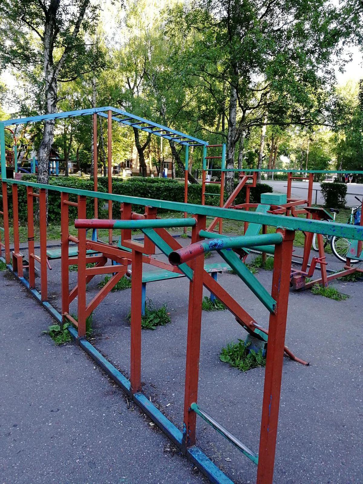 Zelenogradsk - Fitness Park - Брецель