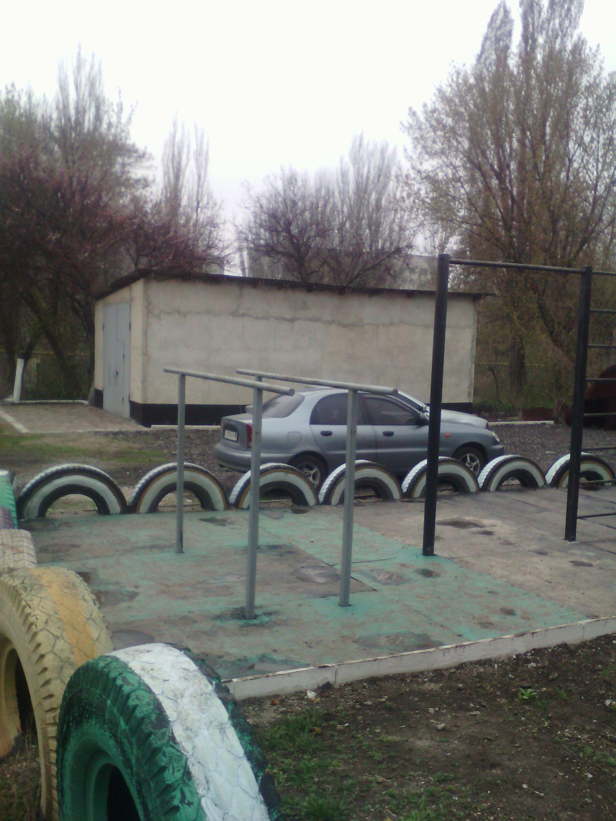 Makiivka - Calisthenics Gym - Площадь Бажанова
