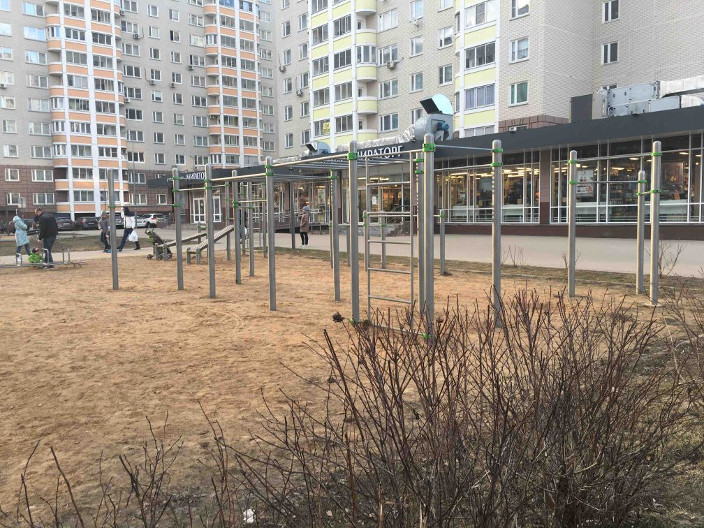 Moscow - Fitness Park - Улица Бианки