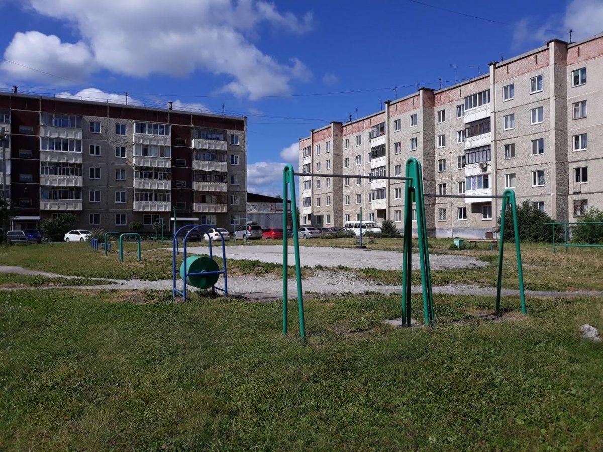Verkhnyaya Pyshma - Street Workout Park - Школа №4