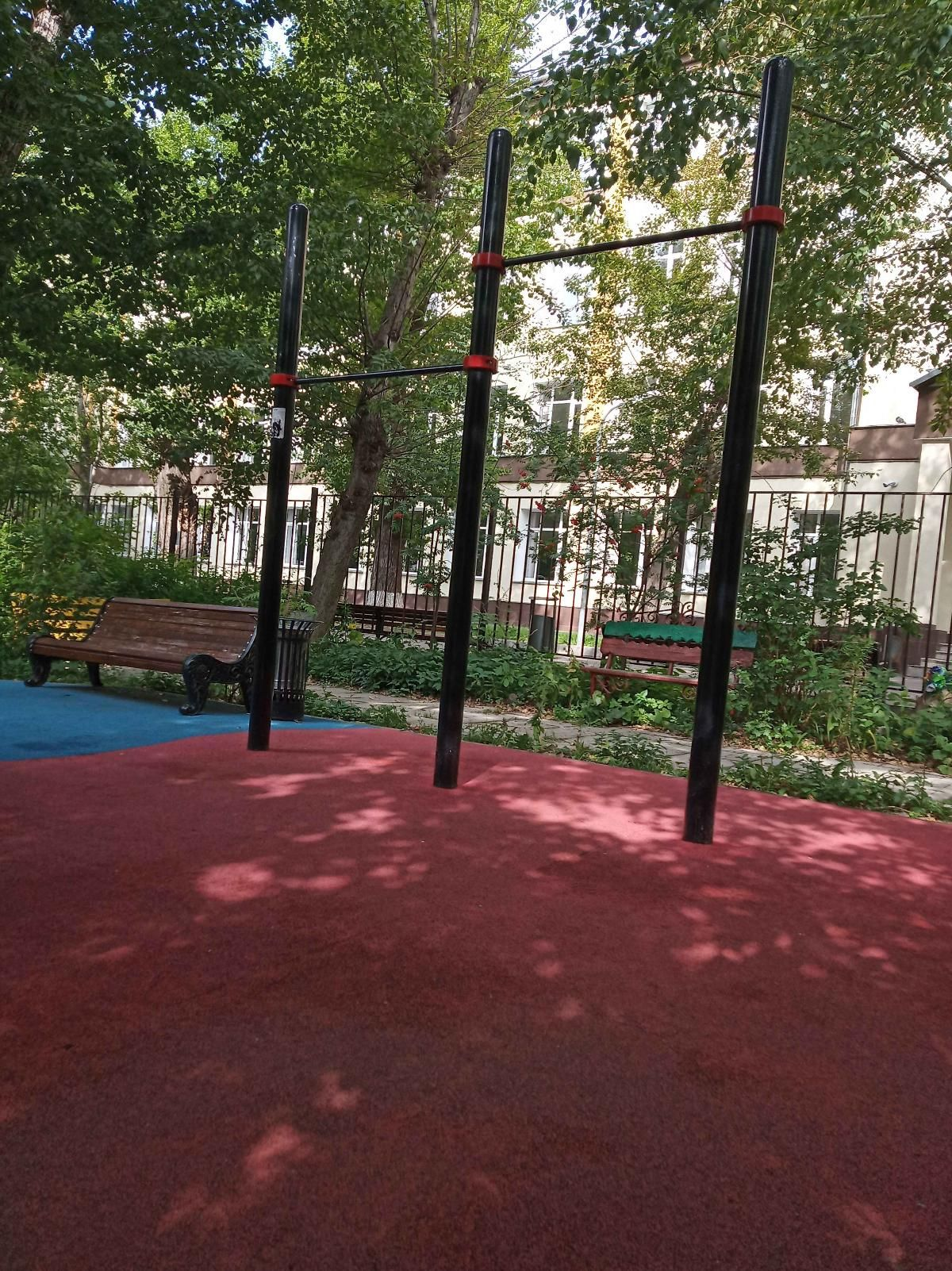Moscow - Street Workout Park - Усачёва Улица