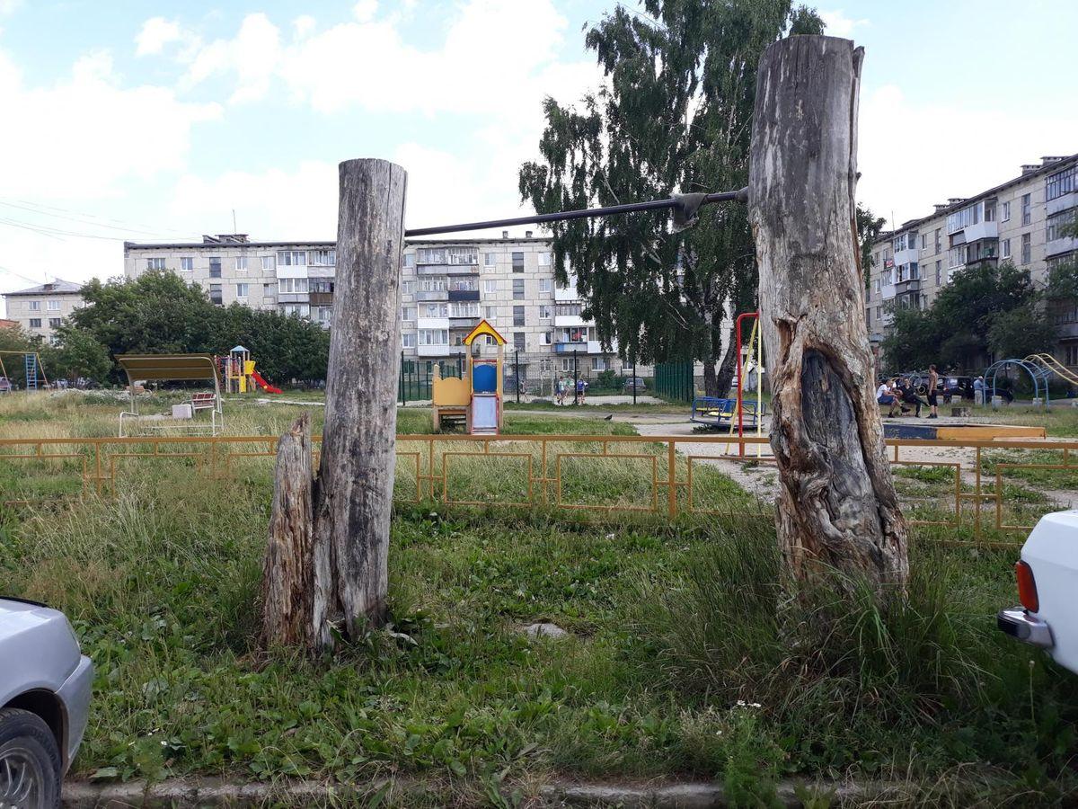 Verkhnyaya Pyshma - Outdoor Gym - Пятерочка