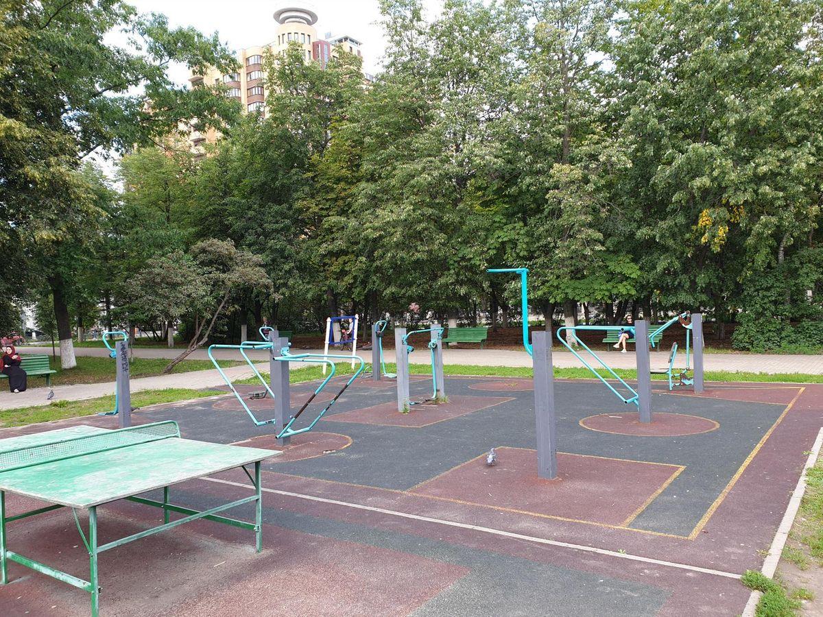 Zhukovsky - Street Workout Park - Улица Жуковского
