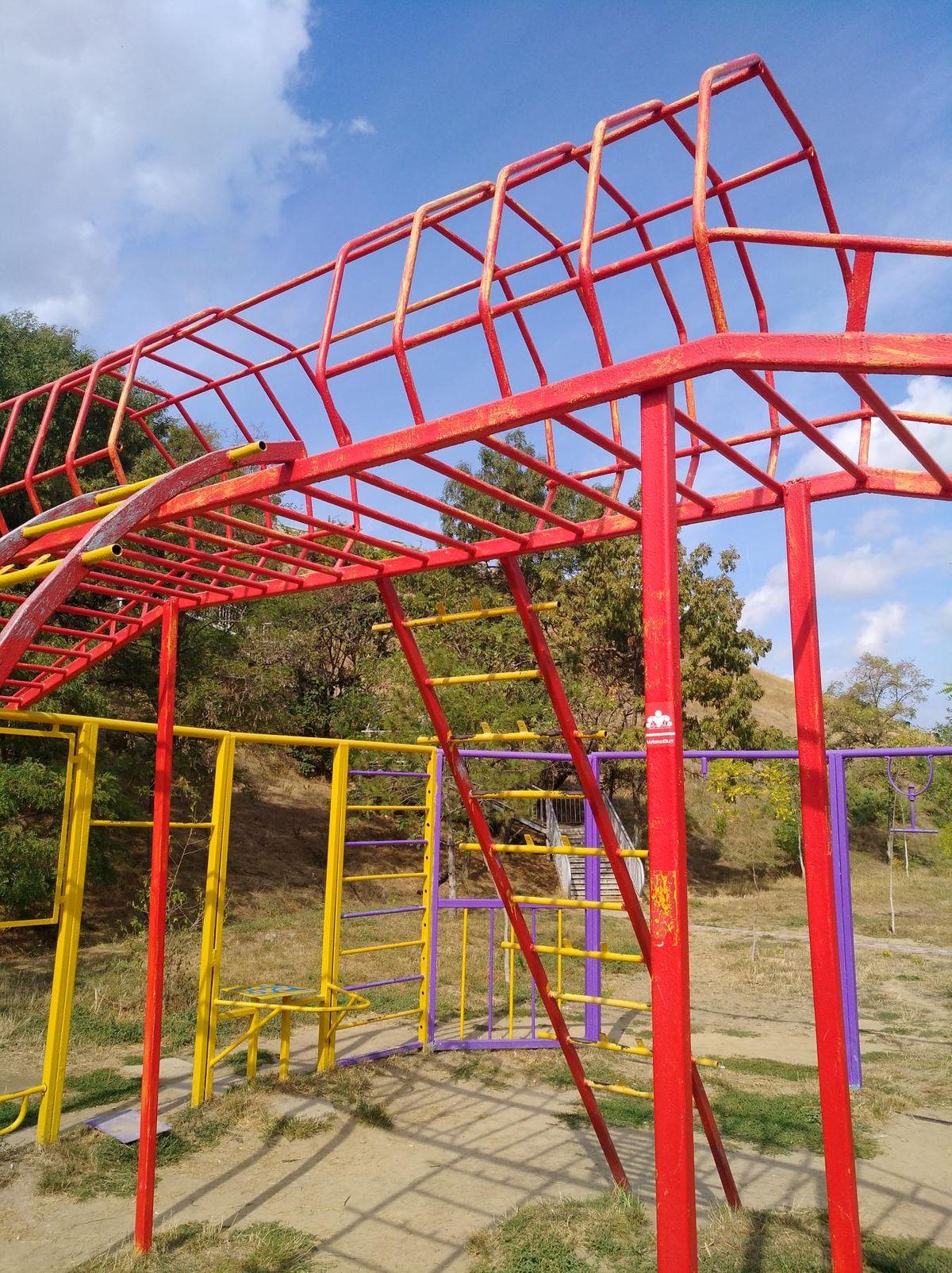 Odessa - Street Workout Park - Пляж 15-ст Фонтана