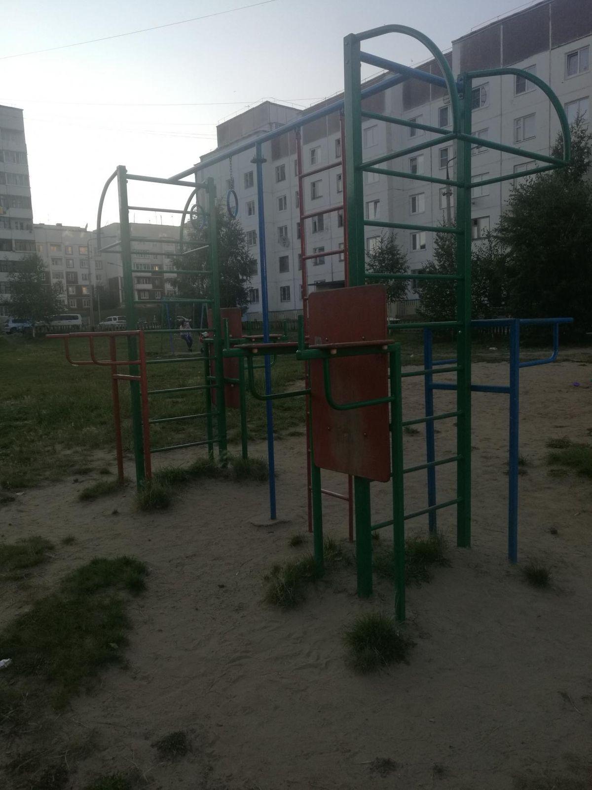 Bratsk - Street Workout Park - Падунские Пороги